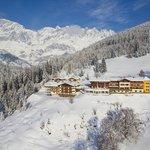 Hotel Bergheimat Winteransicht