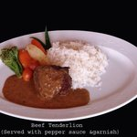 Beef Tenderloin, pepper sauce