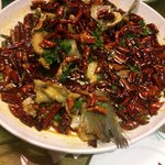 Fish with Yunnan chilies