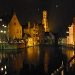 Bruges on New Years Eve