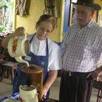 Productuers de café à l'ancienne
