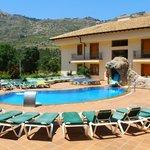 Hotel Balneario Parque de Cazorla (terraza en verano)