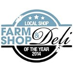 Our new award! Local Shop of the Year 2014 in the Farm Shop & Deli Awards