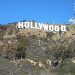OUR private view of the Hollywood sign