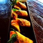 green curry spring roll's