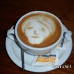 Olha o capricho do café (o café Costarriquenho é delicioso!)