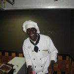 Dwayne, the best omelet maker!!!