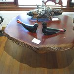 Jarrah Burl Table on Mallee Root Base