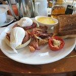 petit déjeuner à la carte