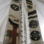 Bandiere (nobori) della sezione giapponese
