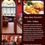 Parlour Cafe Brochure / leaflet