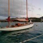 Historic Sail Boat in the Harbor