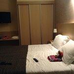 Family room (adjoining door to double bedroom)