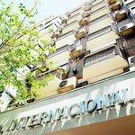 Fachada del hotel Internacional