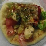Chicken Souvlaki Sandwich