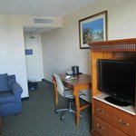 Work desk, couch, dresser - very spacious suite