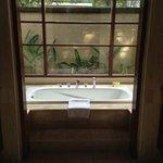 The stunning bath tub