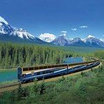 The Rocky Mountaineer Train
