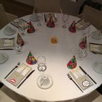 Birthday Table Setting for Kids