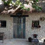 El exquisito restaurante que comparte la zona con las cabañas
