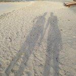 Tranquilidade nas praias