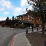 Main entrance or resort