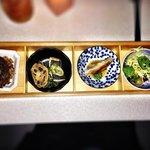 Dine Out Dinner Menu - Beet Salad, Foie Gras Gyoza, Sablefish & Braised Short Rib