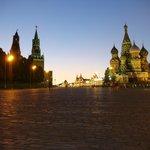 Красная площадь вечером