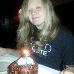 Birthday dessert!  DELICIOUS!