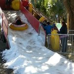 snow hill in frost fest