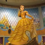 Belle Statue at Downtown Disney