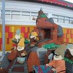 Seven Dwarfs Lego Creation