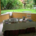 Kostenloses Gebäck und Kaffee/Tee am Nachmittag