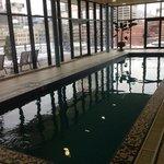 piscine pour moment de détente