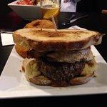 Yummy breakfast burger!