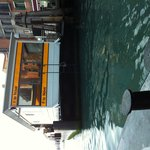Floating bus stop