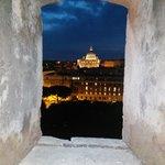 San Pietro by night