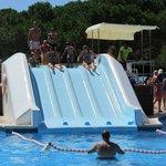 toboganes piscina principal