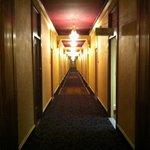 Eerie corridors of the hotel