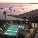 Sunset over Limassol from Crowne Plaza, 5th Floor