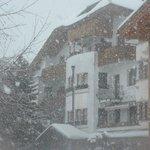 Hotel sotto la neve