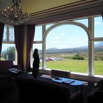 Magnificent views from the elegant main room