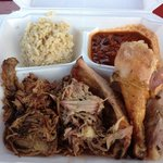 Combo Platter. Delicious