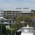 Signage of Marina Resort