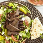 Greek Salad with Gyros