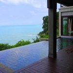 Presidential Suite with infinity pool and one of the bedrooms!