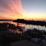 Sunset at Little Harbor