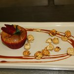 Corn Kernels Cake - delicious