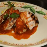 Pork Loin w/ Pasilla Chili Peppers and Molasses Sauce