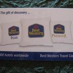 Travel-card BW ' ottima idea regalo in questo Hotel'